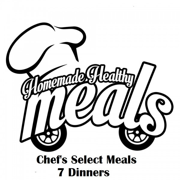 Chef's Select Meals #1- 5 lunches 5 dinners